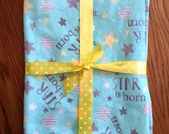 Star is Born Receiving Blanket