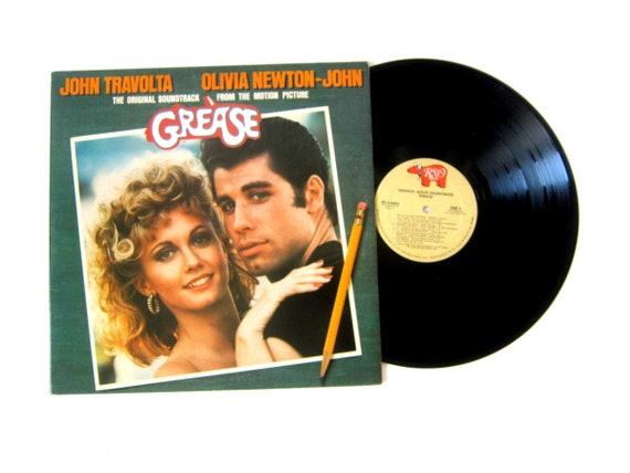 Grease The Original Soundtrack Vinyl Record Album 12 Inch LP Vintage Music Double Album 1978