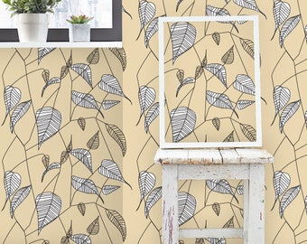 Removable wallpaper/Wallpaper/Peel and Stick/Self adhesive wallpaper/Modern Wallpaper /Creative patern S129
