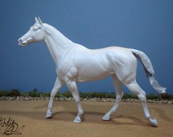 Custom Commissioned/Portrait Model Horse, Traditional Scale Stallion Travis/Carrick (Breyer)