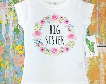 Big Sister Announcement, Big Sister Shirt, Big Sister Outfit, Big Sister Gifts For Toddlers, Big Sister Surprise, Promoted To Big Sister
