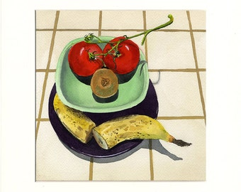 Foot in Mouth Fruit (Painting)