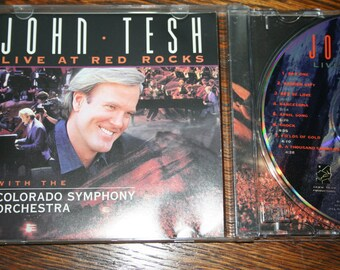 John Tesh Live at Red Rocks with the Colorado Symphony Orchestra - 1995 - CD, John Tesh Music