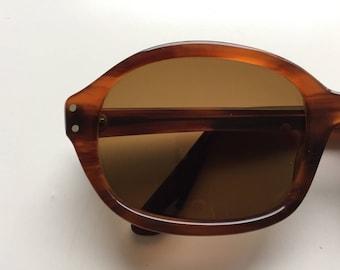 Vintage 60s German Brown Sunglasses