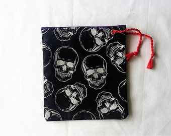 Skulls Dice bag/pouch