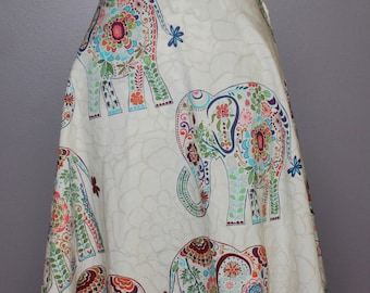 Women's A-Line Skirt - Made to Order, custom, you choose fabric