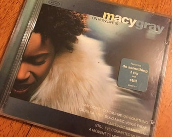 Macy Gray Music CD On How Life Is Do Something, I Try and Still