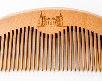 Beard Comb - Wood Comb - wooden beard comb - wooden comb - Beard combs - wood combs - beard care - beard gifts - gifts for him - christmas