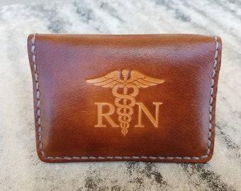 Front Pocket wallet RN-Registered Nurse