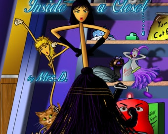 Autographed kids book! The Mysterious Life Inside a Closet:A special message included!