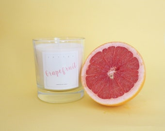 Grapefruit and Vanilla Soy Candle