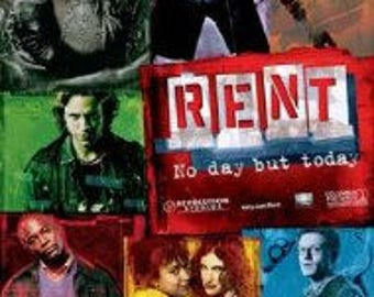 Rent - Movie Poster - 24x36""