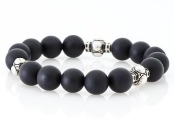 DiziMax Real Onyx Stone Bracelet for Men and Women - EDHO+