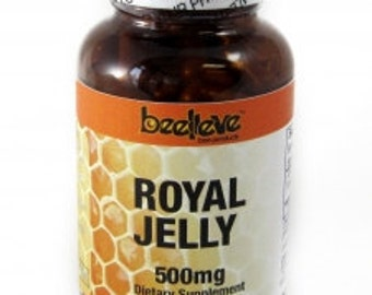 Royal Jelly Capsules 500mg (90caps)