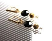 Earrings in fine stones, ...