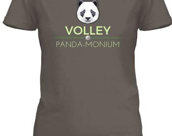 Volley Panda-monium V-Neck Tee