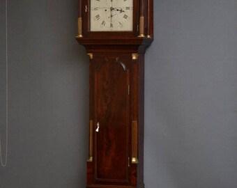 SN3098 Fine quality Georgian grandfather clock