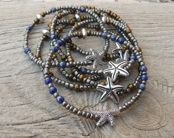Starfish, women bracelet women bracelet beads bracelet women, summer bracelet, beach jewelry, collection, summer, starfish