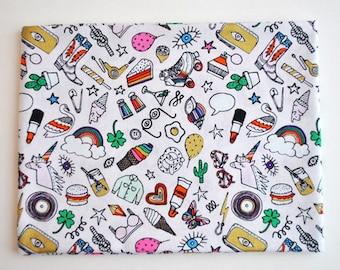 Rico Design icons fabric fat quarter