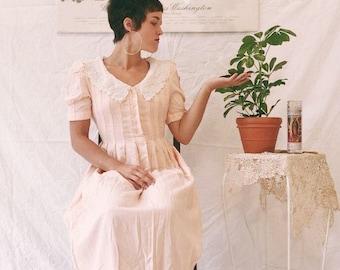 Pink sweetie pie doll dress // Vintage Sarah elizabeth size 6