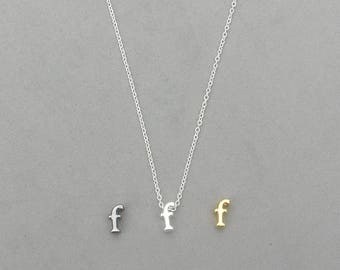 Initial f Necklaces 373