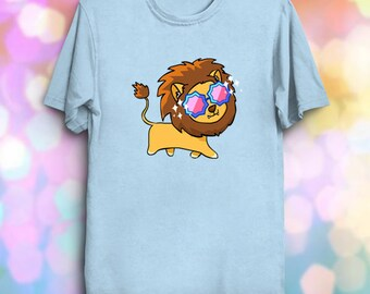 Fabulous Lion - Funny Lion Shirt Fabulous Kawaii Cute Fantasy Lion T-Shirt