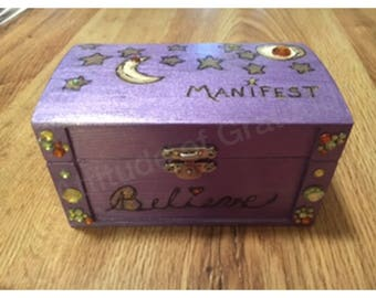 Manifestation/ Intention Box for Your Altar or Sacred Space