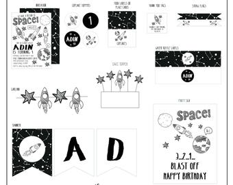 Space Birthday Collection