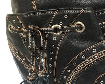 Vintage Cole Haan Village Collection Hobo Shoulder Bag