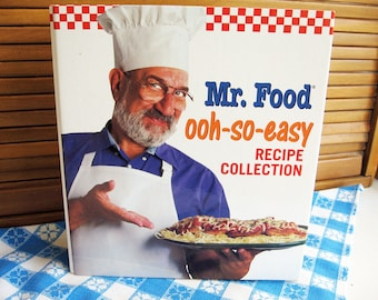 Ralph kacoo a taste of louisiana recipe book mr food ooh so easy recipe collection book vol 1 forumfinder Image collections