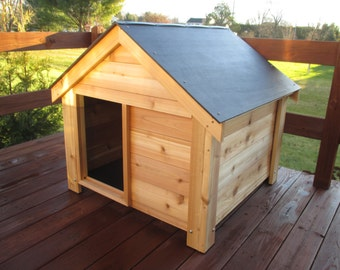 The Ultimate Cedar Dog House ***Free Shipping US48***