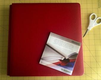 Scrapbook album Red Creative Memories 12x12 Flex-Hinge Scrapbook Album, new, scrapbook album, scrapbooking, acid free, lignin free,