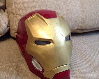 Iron man helmet mk45 (1:1)