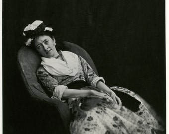 Lewis Carroll Photo - Woman in chair