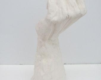 Ceramic hand sculpture