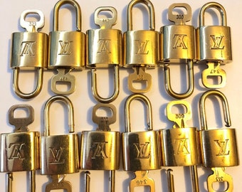 Authentic Louis Vuitton lock and key. Authentic and  Vintage