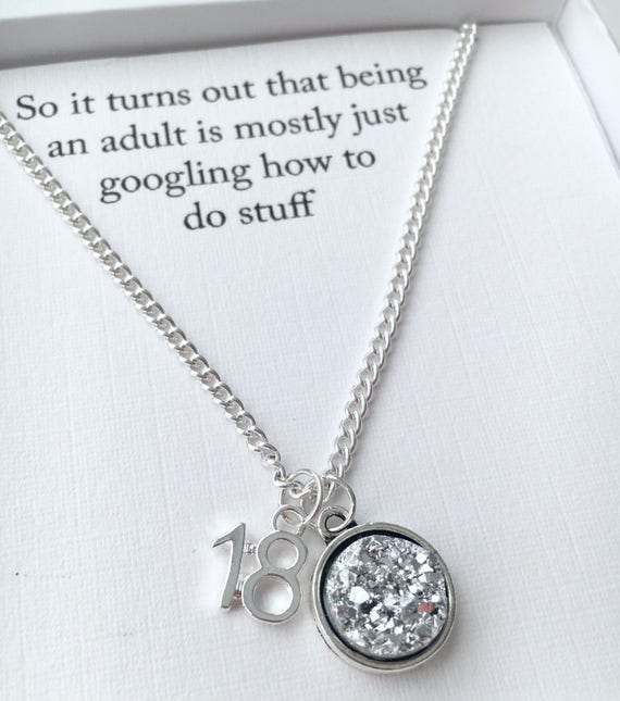 18th Birthday Gift 18th Funny Gift Personalised Jewellery