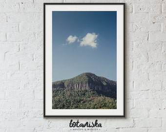 Mountain Photography, Wilderness Wall Art, Wilderness Decor, Mountain Print, Nature Photo, Printable Art, Moody Landscape, cloud