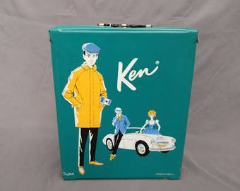 1962 Vintage Ken Doll and Carrying Case