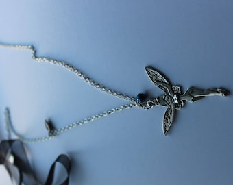 sautoire fairy pendant necklace
