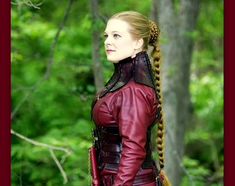 Legend of the Seeker Mord Sith style braid hair extension costume wig reenactment cosplay Long Custom color plait plaited hairfall