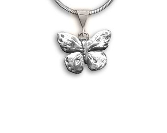 SS Butterfly Pendant