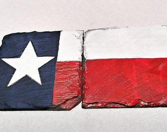 Texas Flag Coasters