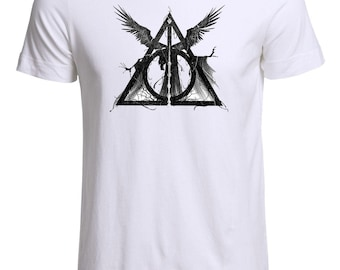 Deathly Hallows Harry Potter Inspired Three Brothers Unisex T-Shirt