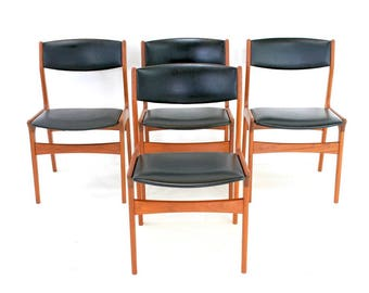 Mid Century Chairs... By DYRLUND of Denmark...