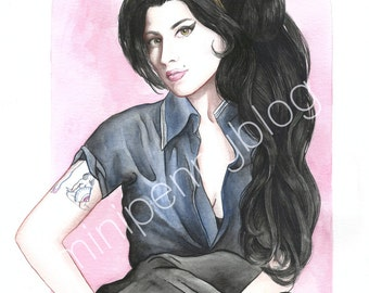 REDUCED PRICE • Amy Winehouse 8x10 Print
