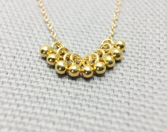 Dulcet - Little Gold Drops - Necklace
