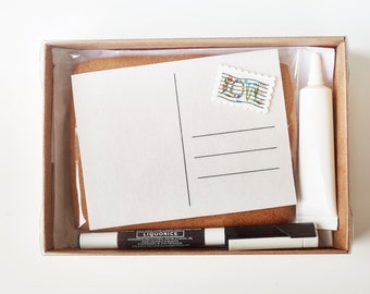 Edible Postcard Biscuit Kit