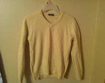 Mustard Yellow VINTAGE 70s Sweater KNIT
