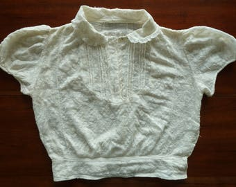 Small off-white blouse -- early 1900's